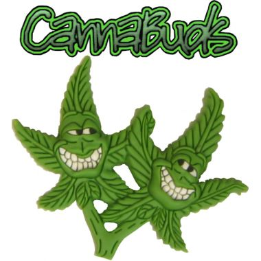 Cannabuds Pin Badge - The Twins