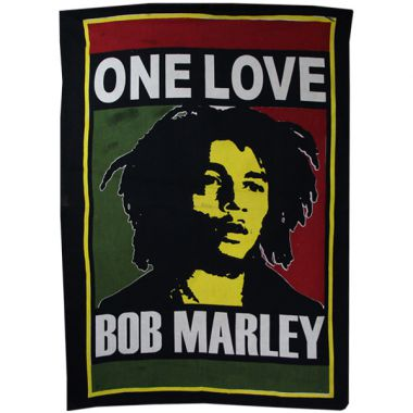 Bob Marley Batik - One Love