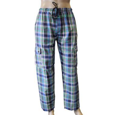 Tyrell Chequered Combat Trousers