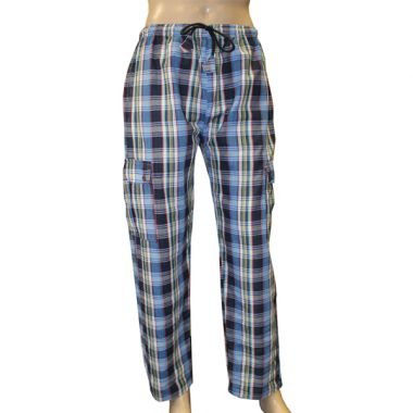 Tyrion Chequered Combat Trousers