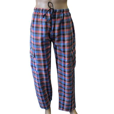 Minas Chequered Combat Trousers