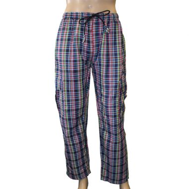 Tully Chequered Combat Trousers