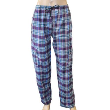 Odair Flannel Chequered Combat Trousers - Extra Large
