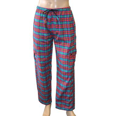 Nostromo Flannel Chequered Combat Trousers