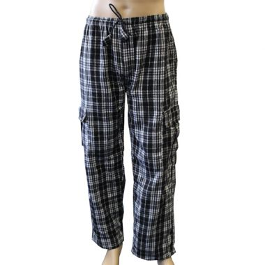 Neo Chequered Flannel Combat Trousers