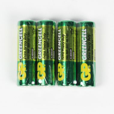 GP Greencell AA Batteries 4pk