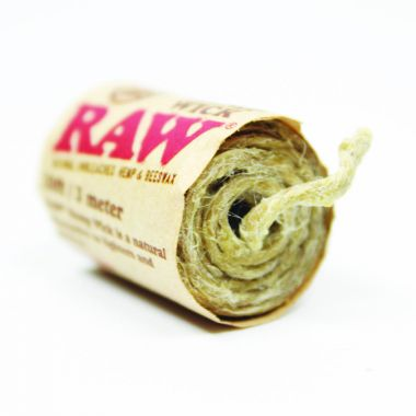 RAW Natural Unbleached Hemp Wick 3m /10 ft