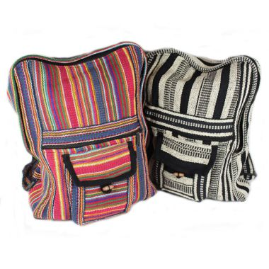 Woven Back Pack