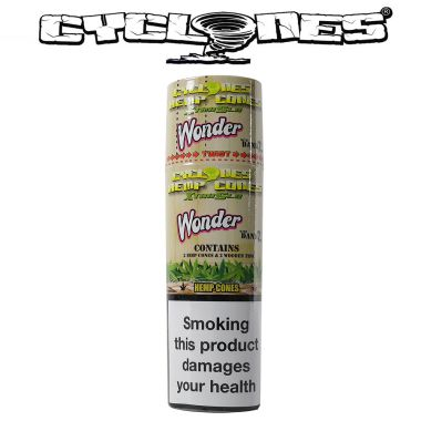 Cyclone Blunts: Xtra Slo - Tobacco Free Wonderberry (2 Pack)