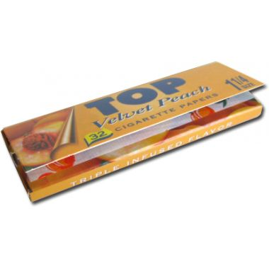 Top Flavoured Rolling Papers - Velvet Peach