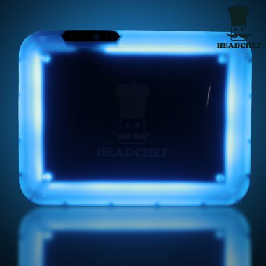 Headchef LED Rolling Tray (BLUE)