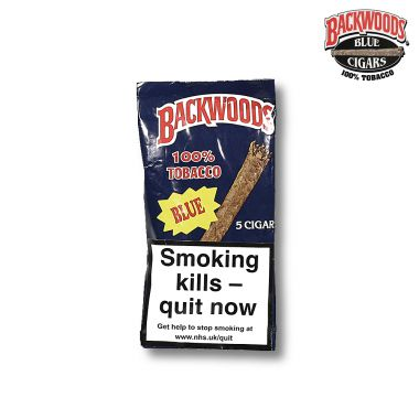 Backwoods Cigars - Blue (Vanilla)