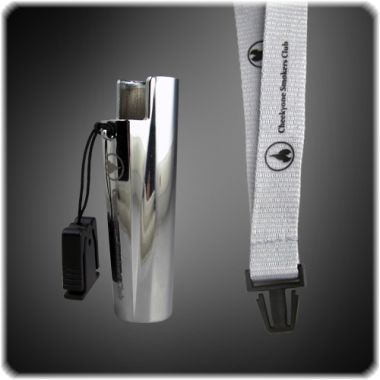 Cheeky One Clipper Holder on Lanyard