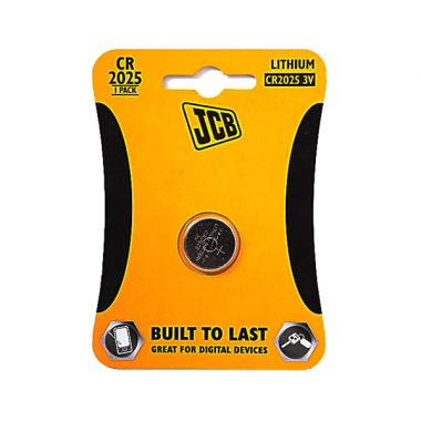 JCB Lithium CR2025 Battery - 1 Pack